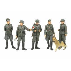 Policía militar alemana.