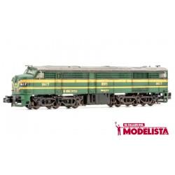 Locomotive 316-017, RENFE. DC. Weathered.