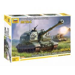 Autopropulsado ruso 152 mm MSTA-S.