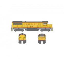 Union Pacific diesel locomotive. BOWSER