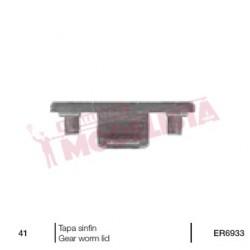 Black end cap for RENFE 269.