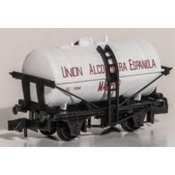 """Tank wagon """"Unión Alcoholera española""""."""