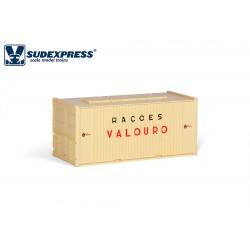 Contenedor 20' RAÇOES VALOURO.
