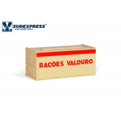 Contenedor de 20' RAÇOES VALOURO.