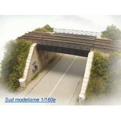 Puente ferroviario. PN SUD MODELISME 1609