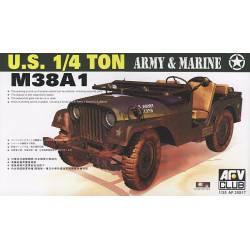 M38A1 1/4t 4x4 truck.