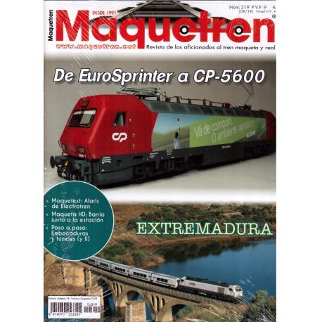 Revista Maquetren, nº 319.