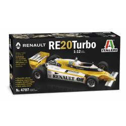 Renault RE20 Turbo. Formula 1.