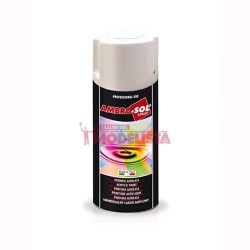 Gloss white. Spray, 100ml.