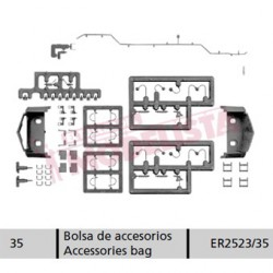 Accessories bag for 252.