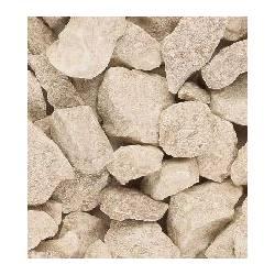 Quartz stone boulders.