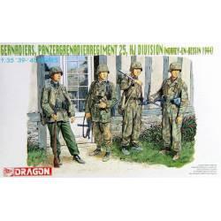 Panzergranaderos Regimiento 25.