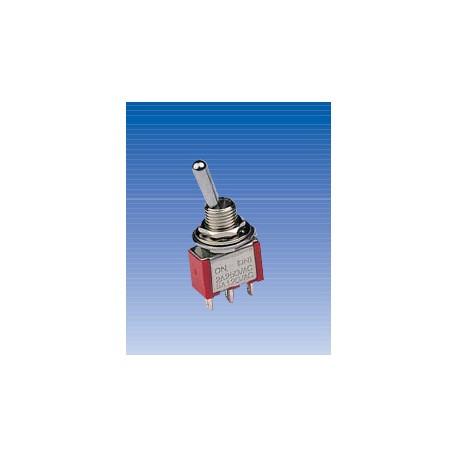 Conmutador de palanca ON-ON de tres patillas. IT0110