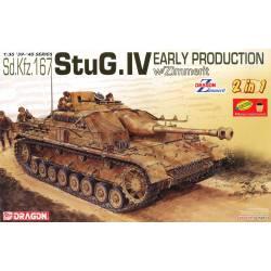 Sd.Kfz.167 StuG.IV. con Zimmerit.