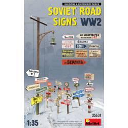 Soviet road signs.