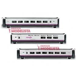 Set de coches para Euromed S-101, RENFE. ELECTROTREN 3524
