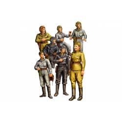 Russian tank crew.