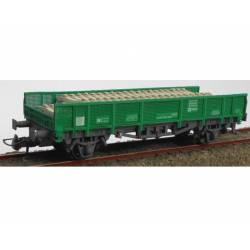 Vagón para transporte de traviesas, RENFE.