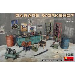 Garage workshop.
