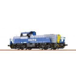 Locomotora diésel Gravita 10 BB, Voith.