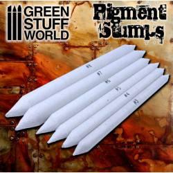 Set pigment blending stumps (x8).