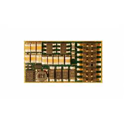 Decoder with sound, 16-pin, 1.5A.