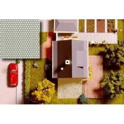 Pavimento hexagonal. BUSCH 7036