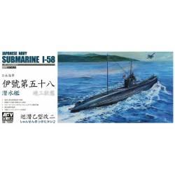 Submarino japonés I-58.