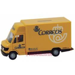 Camión de reparto Correos.