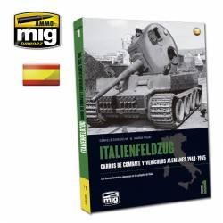 Italienfeldzug. Carros de combate y vehículos alemanes.