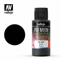 Negro, Premium Color. 60 ml.