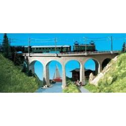 Puente curvo. KIBRI 37665