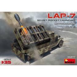 Soviet rocket launcher LAP-7.