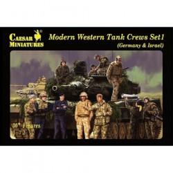 Modern western tank crews.