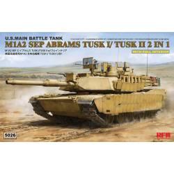 M1A2 SEP Abrams, 2 en 1.