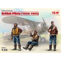 Pilotos británicos.