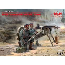 Ametralladores alemanes. IIGM.