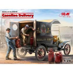 Vehículo para el transporte de gasolina.