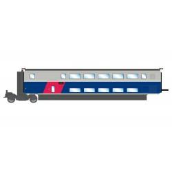 TGV Euroduplex, SNCF. 1st class coach.