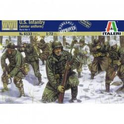 Infantería USA de invierno.