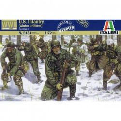 US infantry, winter uniform.
