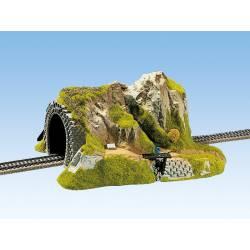Tunnel, single track.