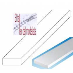 Styrene strips 0,75 x 1,5 mm.