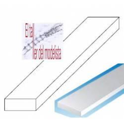 Tiras de estireno 0,75 x 1,5 mm.