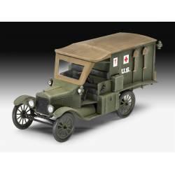 Ford T 1917 ambulance.