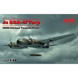 Bombardero alemán Ju 88A-11.