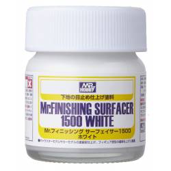 Mr Finishing Surfacer 1500. 40 ml. Blanco.