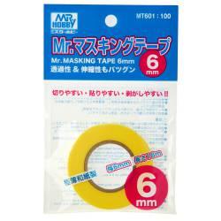 Masking tape 6 mm.