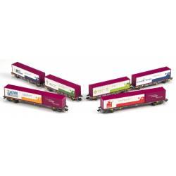 """Set """"Un tren de valores"""", RENFE."""