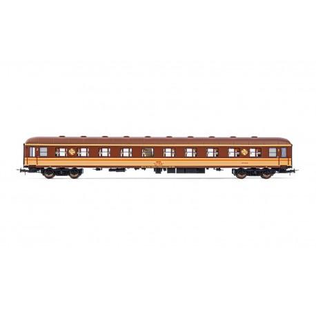 2nd class couchetters coach, BBL 8225. RENFE.